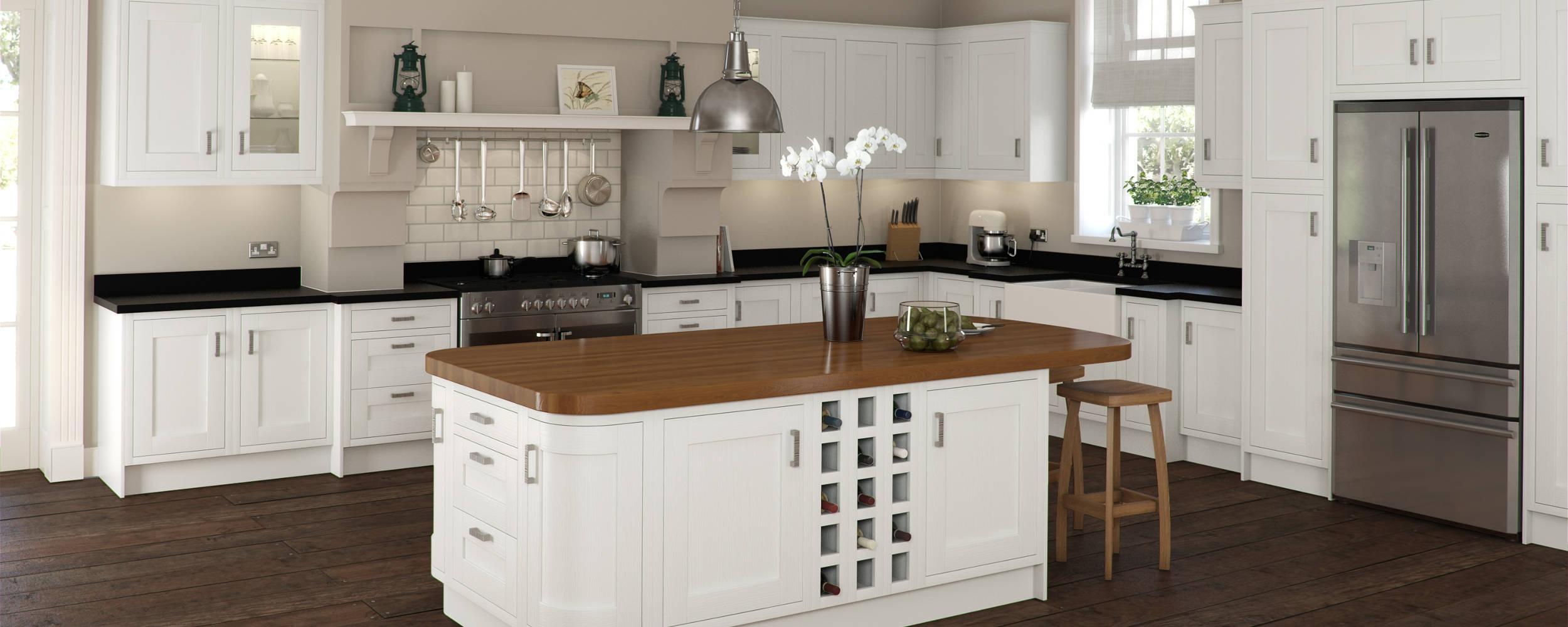 Traditional Kitchens Edinburgh | Oak Kitchens Edinburgh | Shaker ...