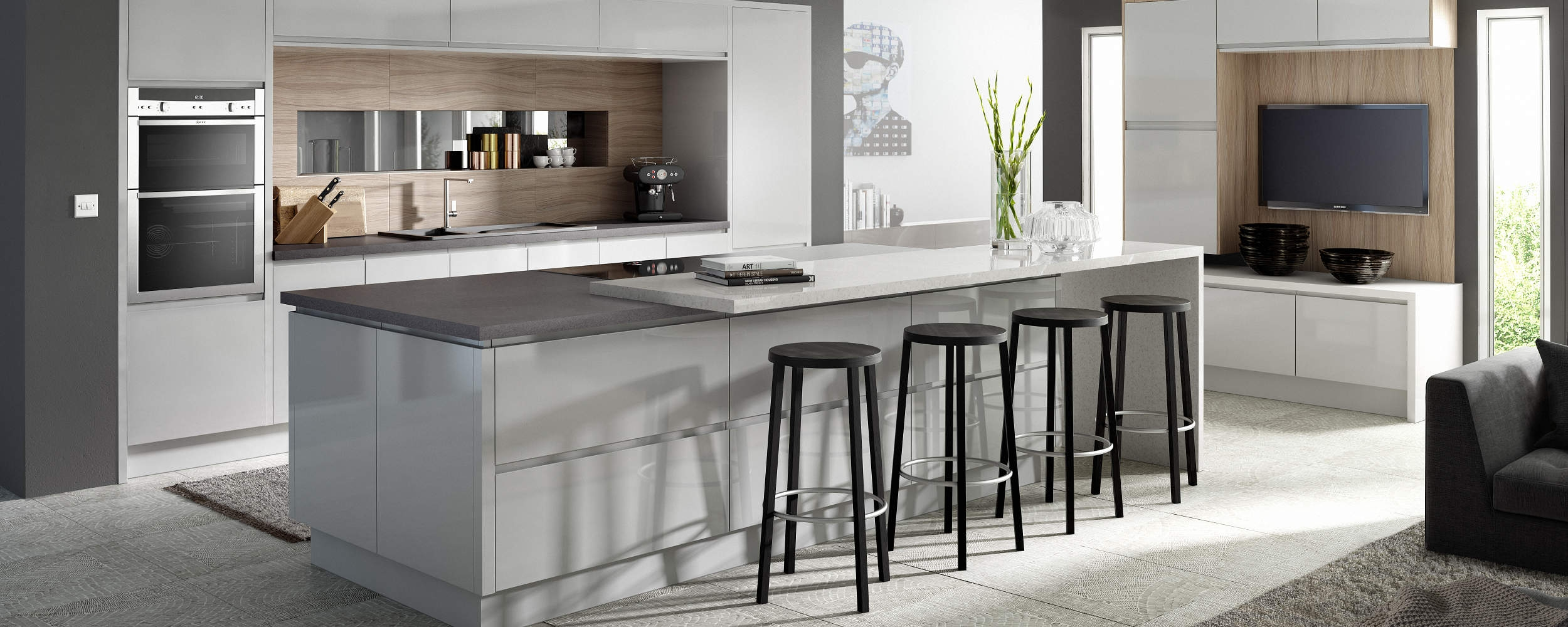 Lucente Kitchen Grey