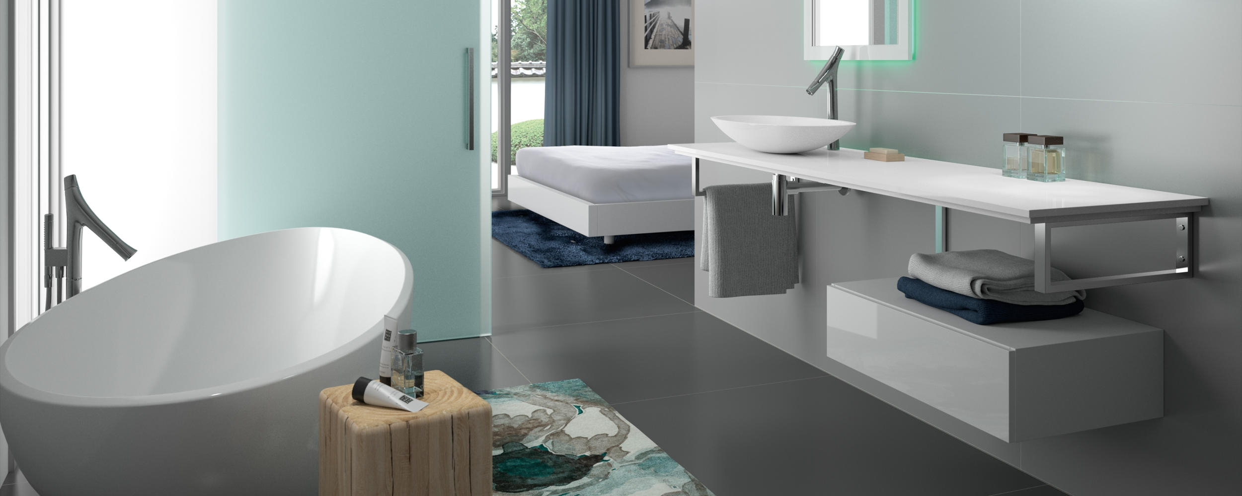 looking for a modern bathroom design in scotland