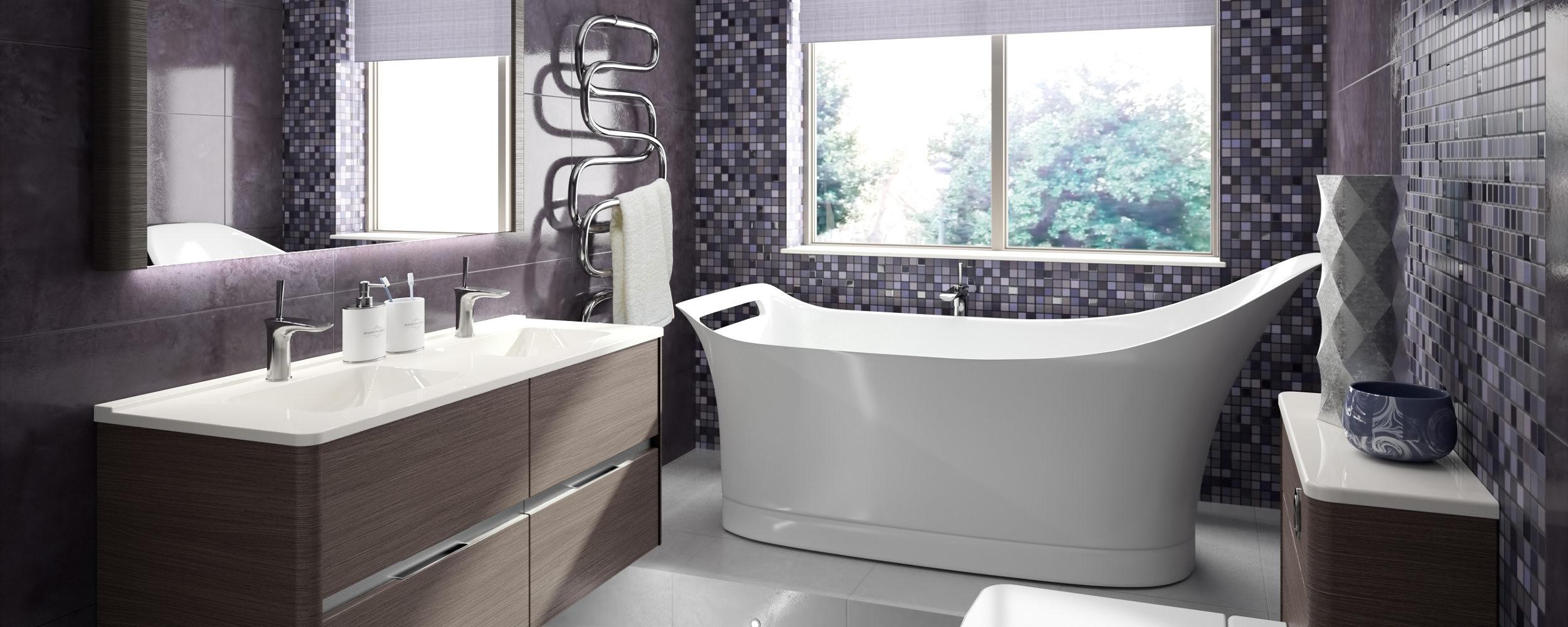 modern bathroom design Dunfermline