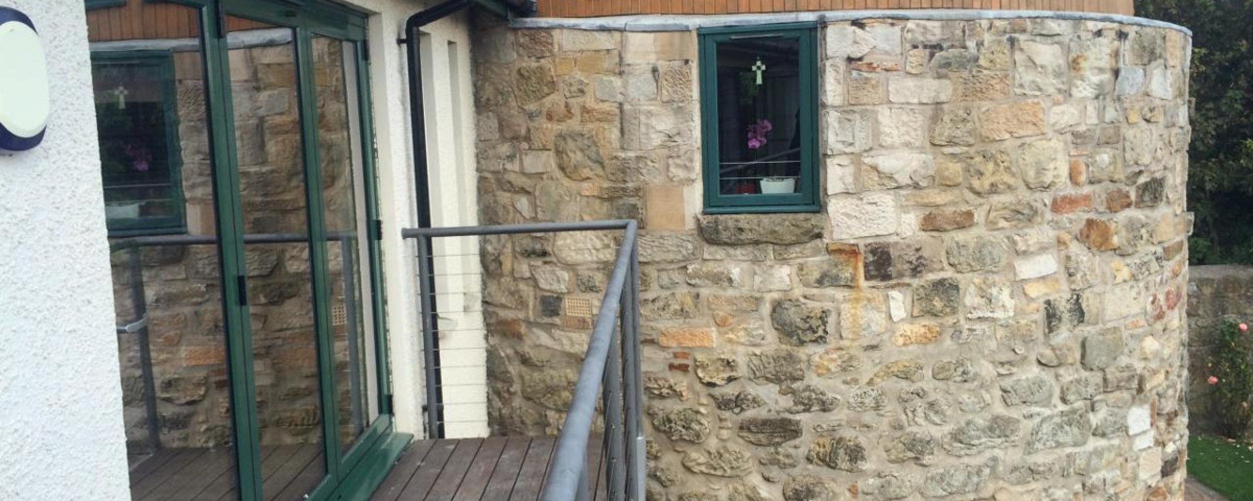 bi folding doors installation scotland